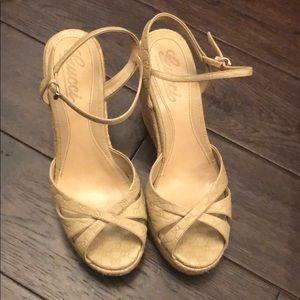 Gucci wedge sandal.